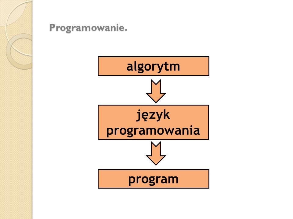 algorytm język programowania program