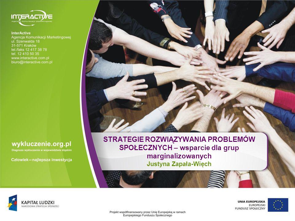 Strategie rozwiązywania problemów społecznych – wsparcie dla grup