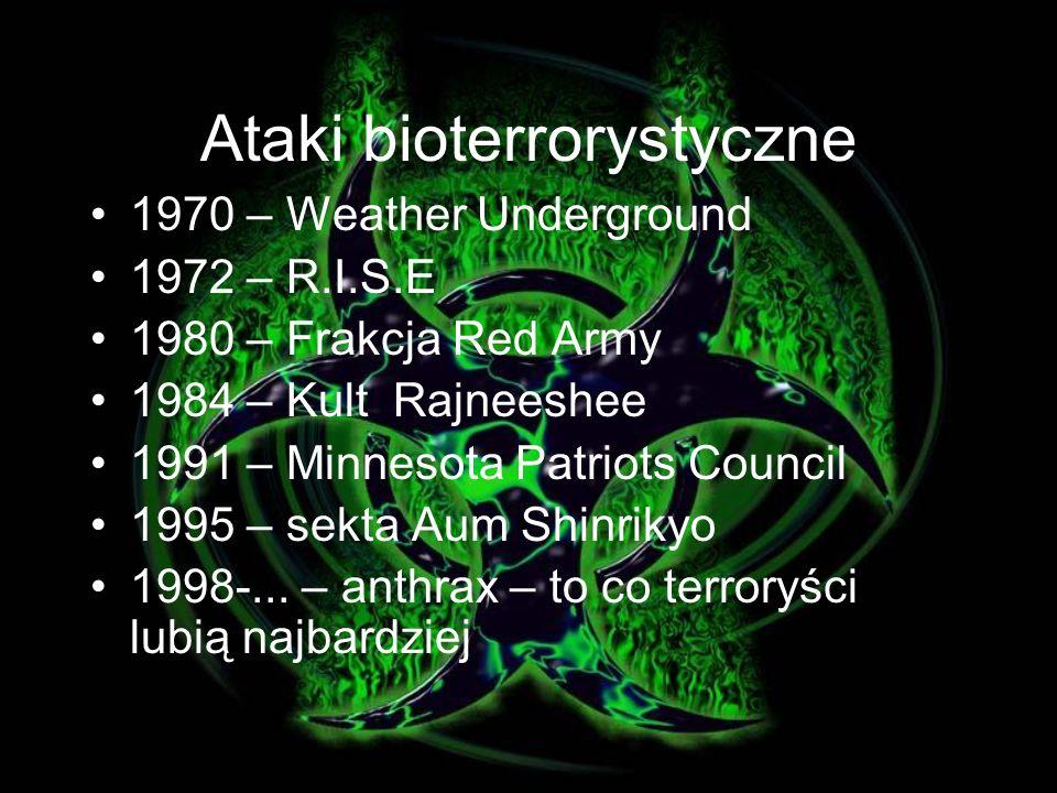 Ataki bioterrorystyczne