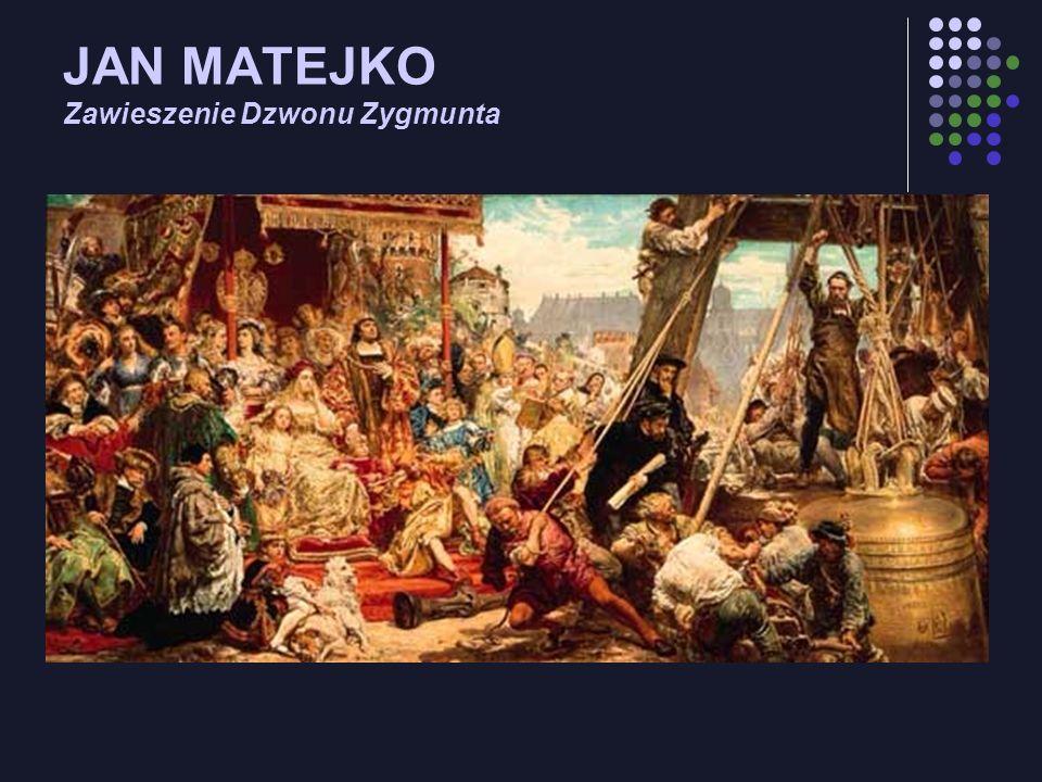 JAN MATEJKO Zawieszenie Dzwonu Zygmunta