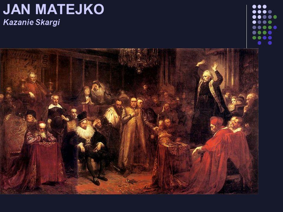 JAN MATEJKO Kazanie Skargi