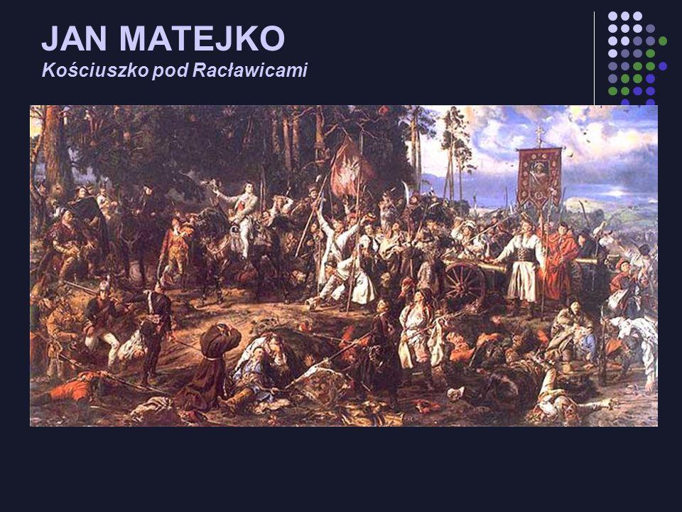 JAN MATEJKO Kościuszko pod Racławicami