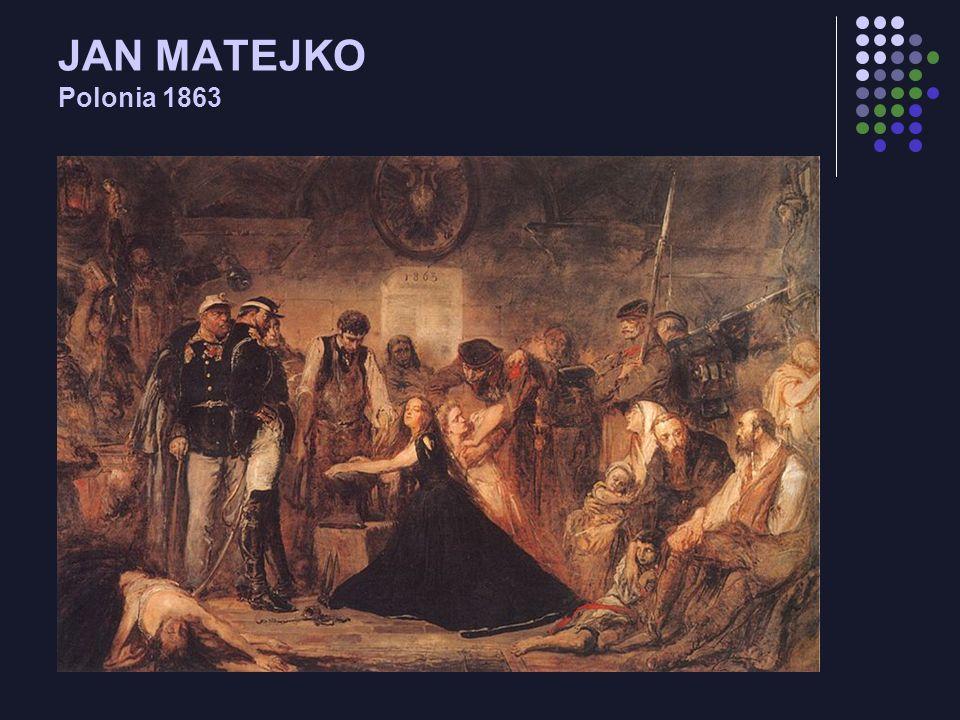 JAN MATEJKO Polonia 1863