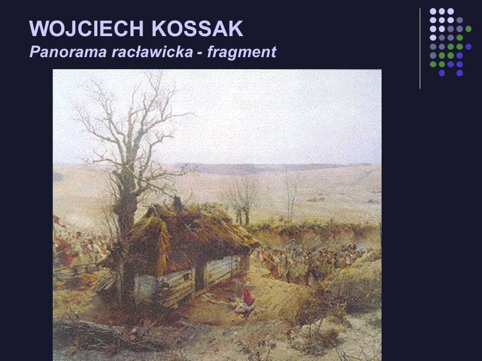 WOJCIECH KOSSAK Panorama racławicka - fragment