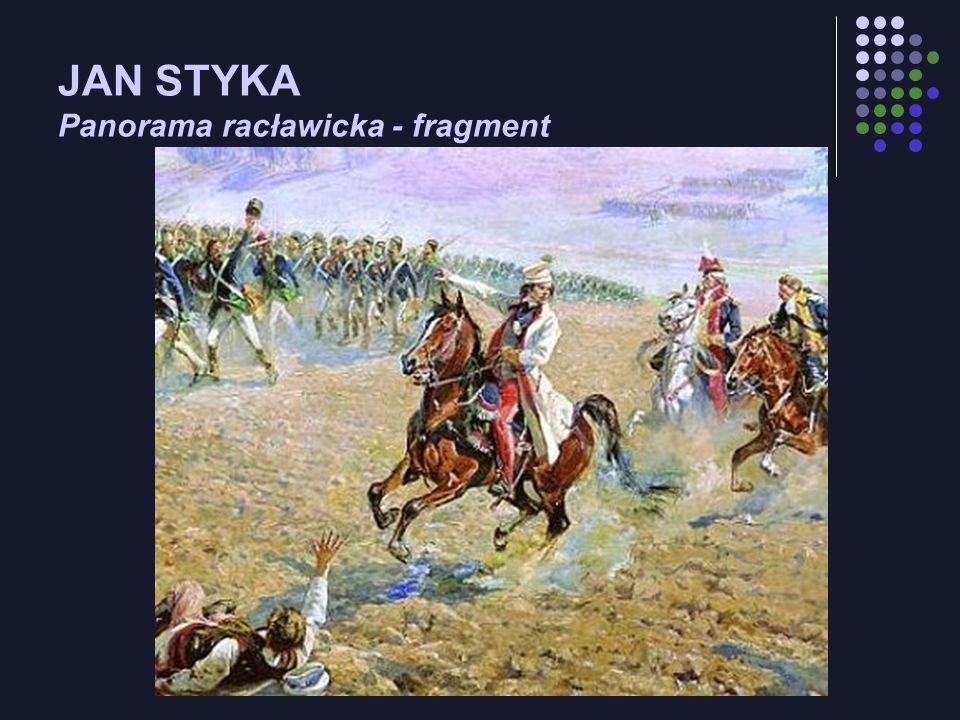 JAN STYKA Panorama racławicka - fragment