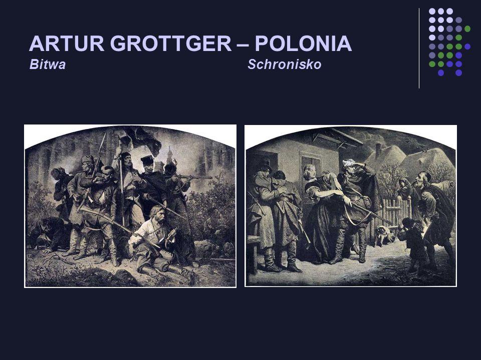 ARTUR GROTTGER – POLONIA Bitwa Schronisko
