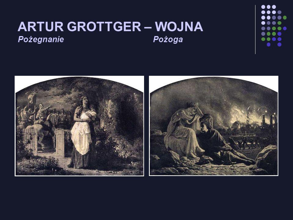 ARTUR GROTTGER – WOJNA Pożegnanie Pożoga
