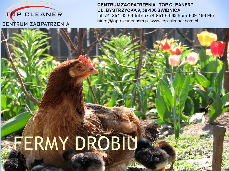 """FERMY DROBIU CENTRUM ZAOPATRZENIA """"TOP CLEANER"""