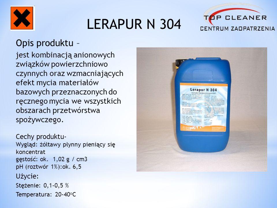 LERAPUR N 304 Opis produktu –