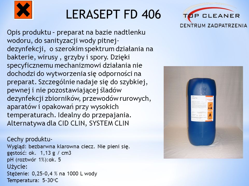 LERASEPT FD 406