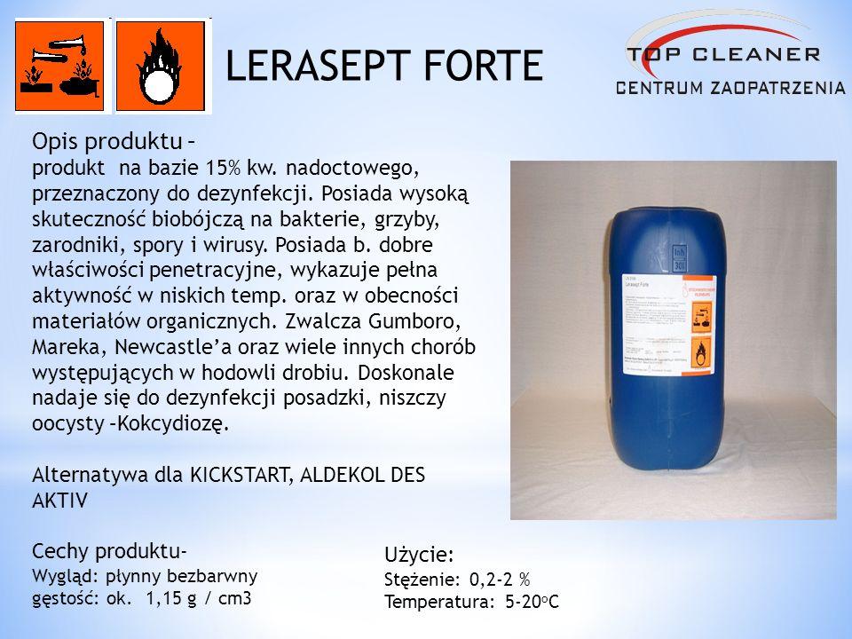 LERASEPT FORTE Opis produktu –