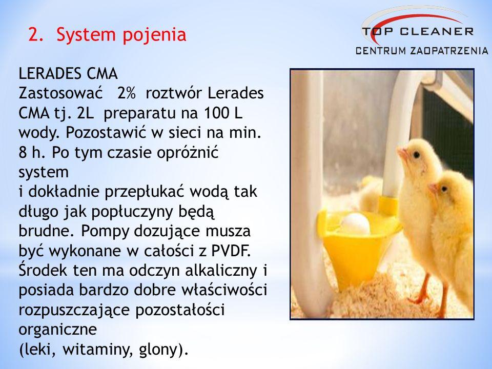 2. System pojenia LERADES CMA