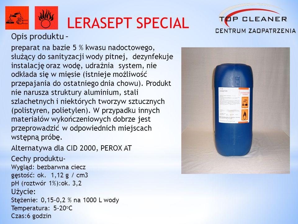 LERASEPT SPECIAL Opis produktu –