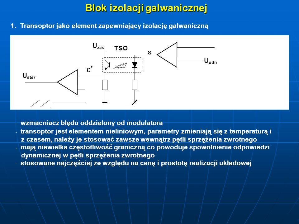 Blok izolacji galwanicznej