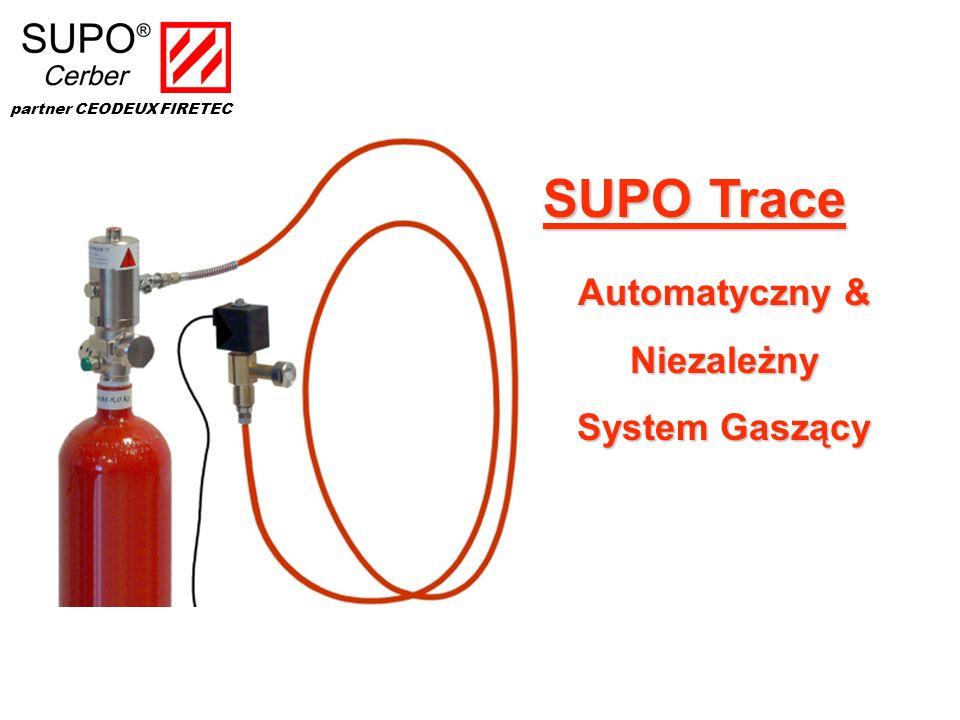 SUPO Trace Automatyczny & Niezależny System Gaszący
