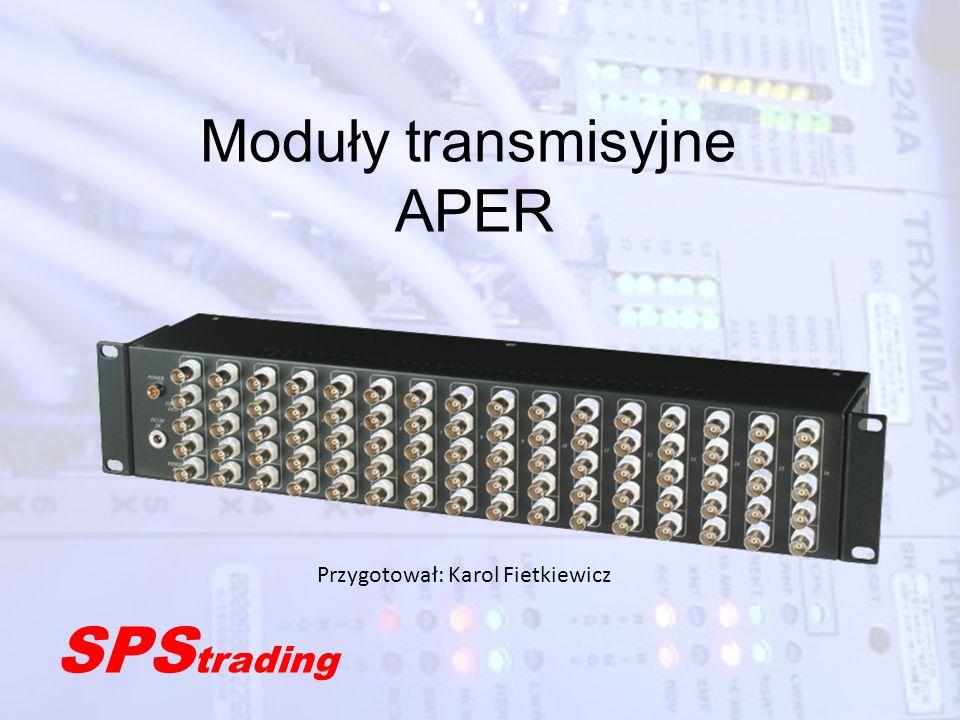 Moduły transmisyjne APER
