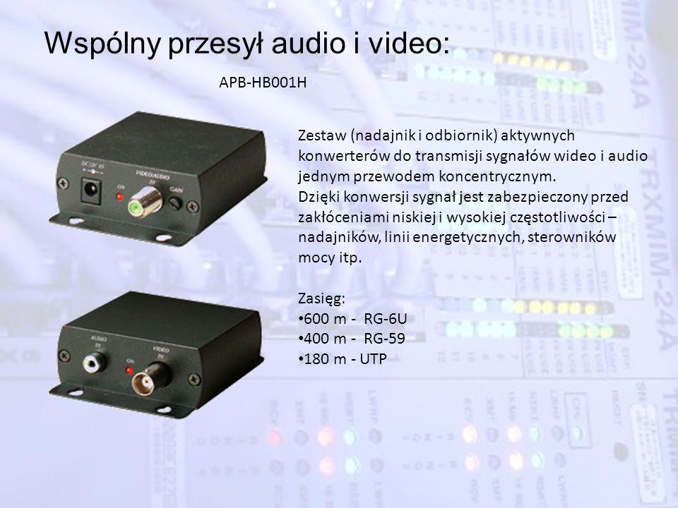 Wspólny przesył audio i video: