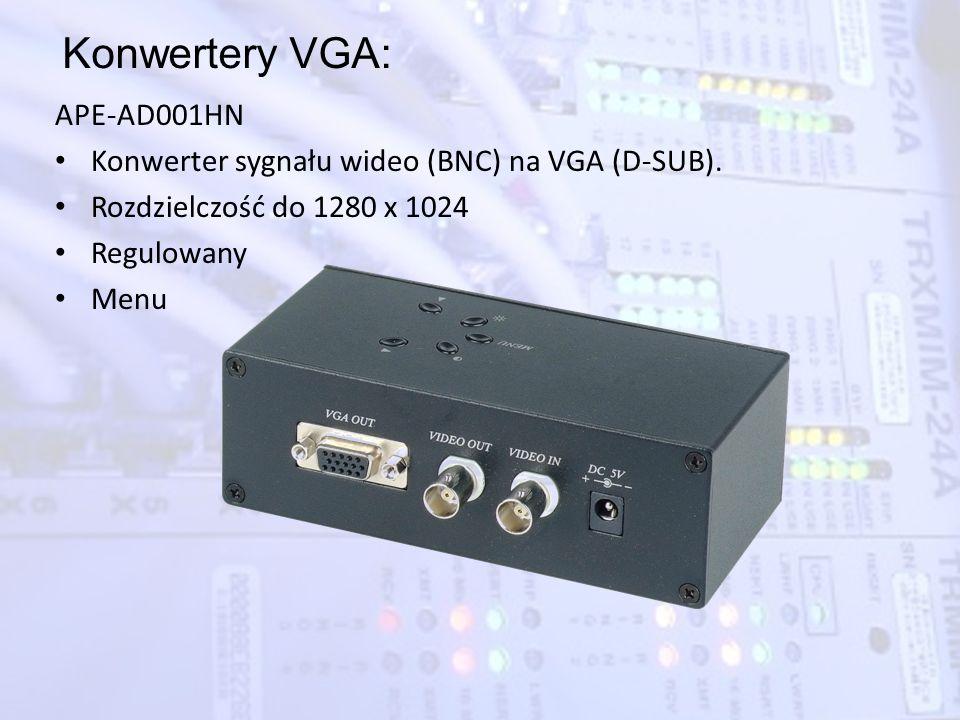 Konwertery VGA: APE-AD001HN