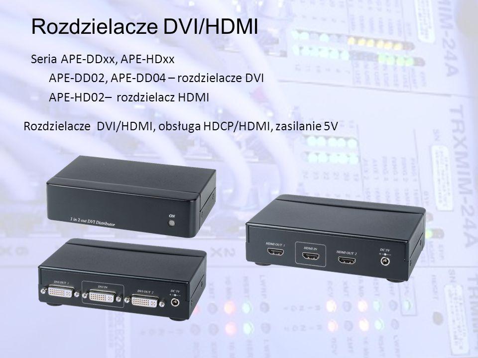 Rozdzielacze DVI/HDMI