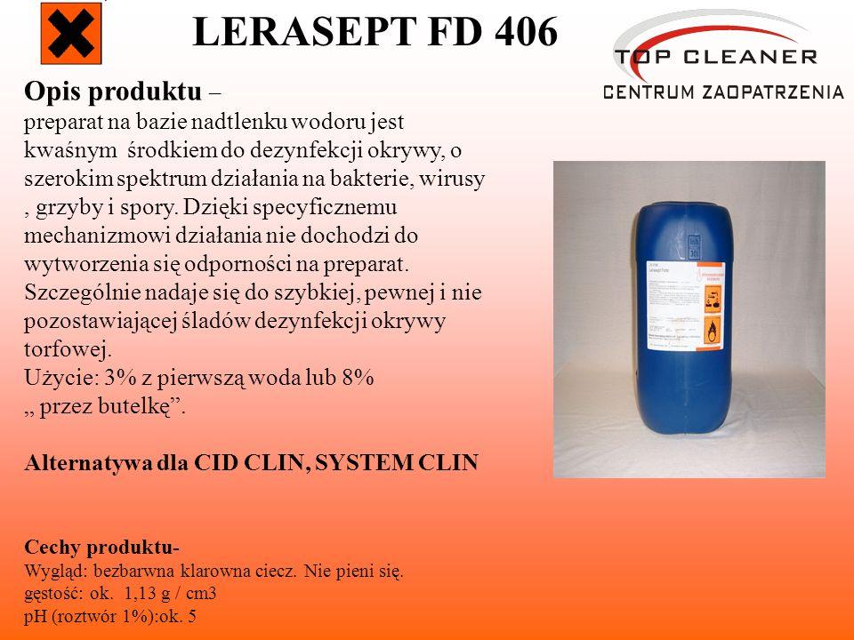 LERASEPT FD 406 Opis produktu –