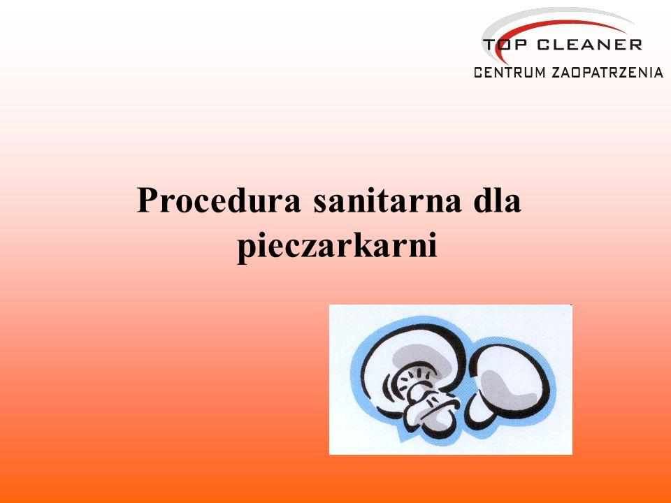Procedura sanitarna dla pieczarkarni