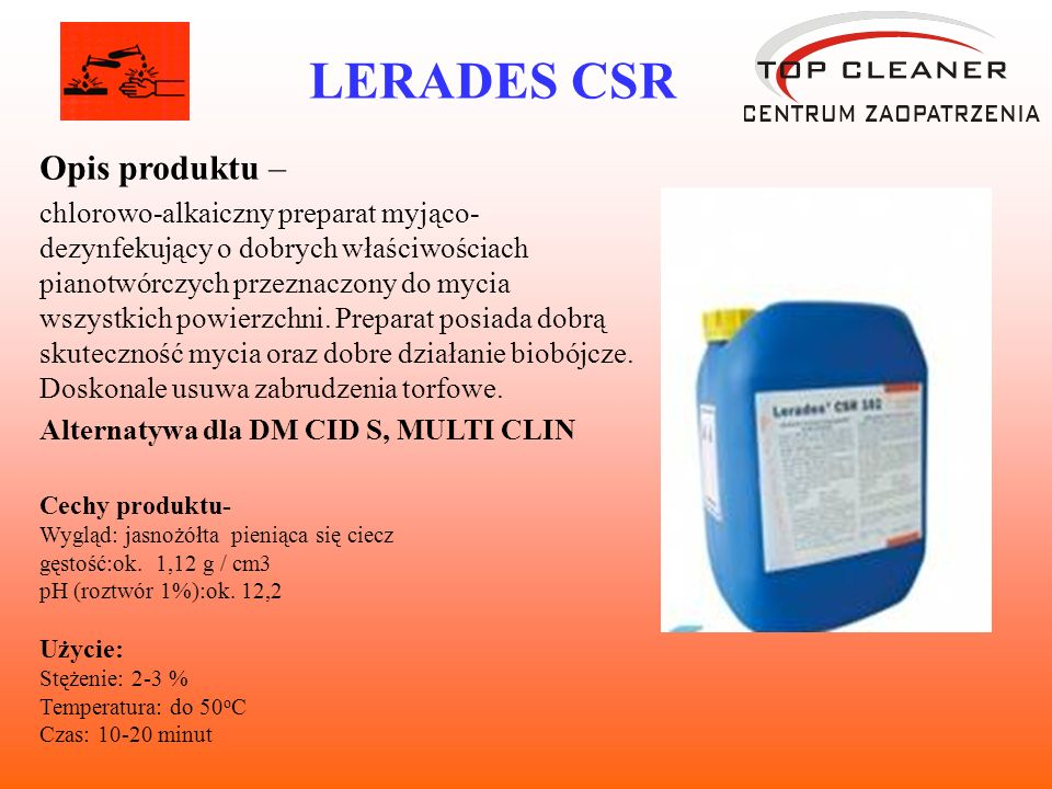 LERADES CSR Opis produktu –