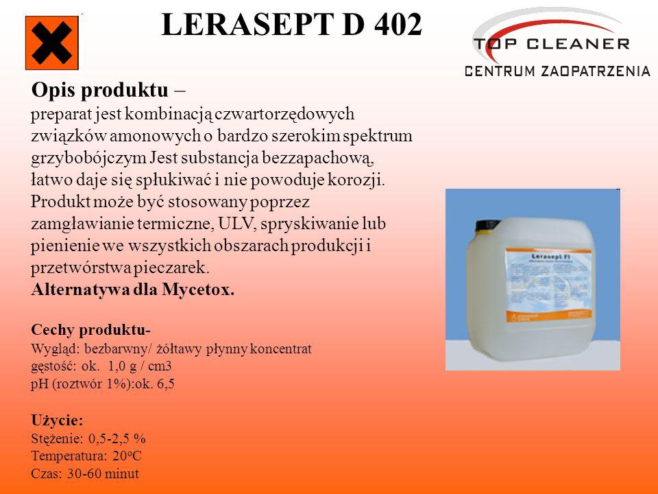 LERASEPT D 402 Opis produktu –