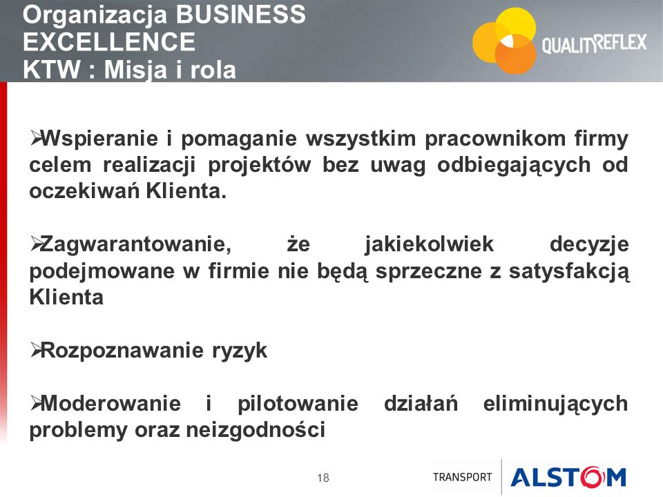 Organizacja BUSINESS EXCELLENCE KTW : Misja i rola