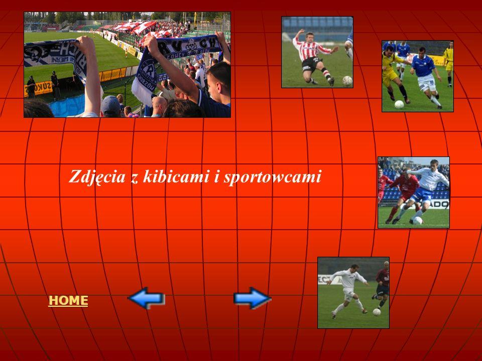 Zdjęcia z kibicami i sportowcami