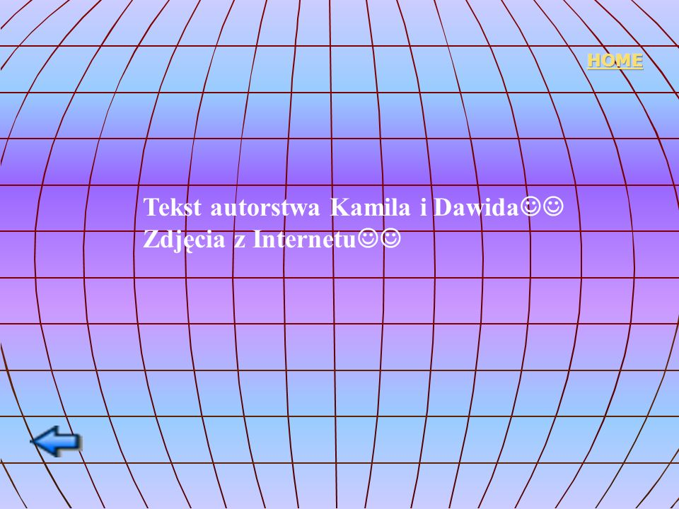 Tekst autorstwa Kamila i Dawida Zdjęcia z Internetu