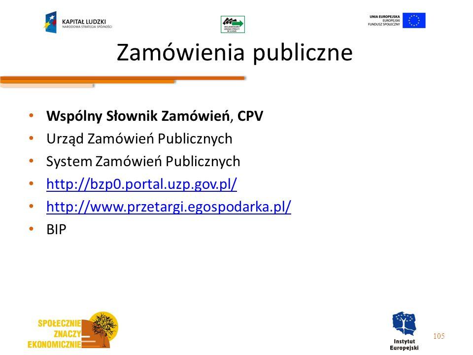 Zamówienia publiczne Wspólny Słownik Zamówień, CPV