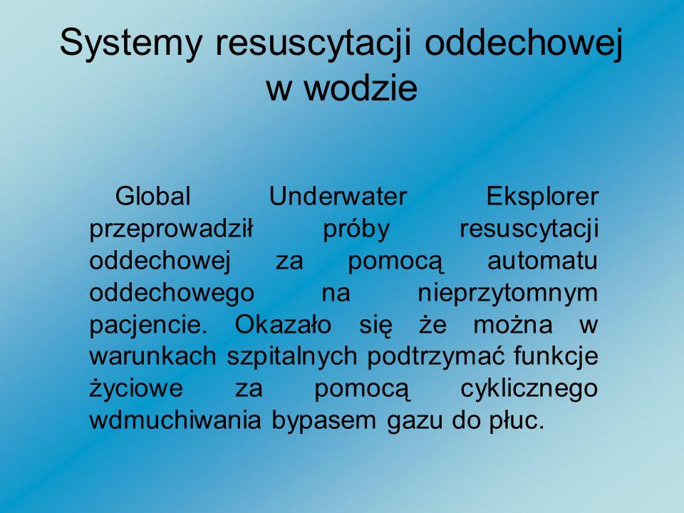 Systemy resuscytacji oddechowej w wodzie