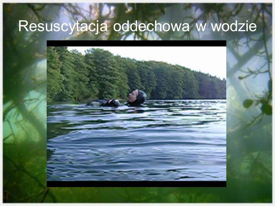 Resuscytacja oddechowa w wodzie