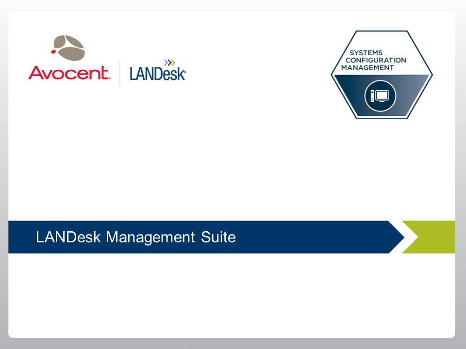 LANDesk Management Suite