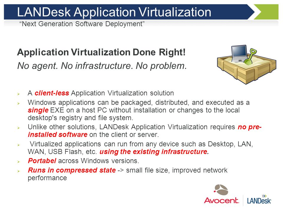 LANDesk Application Virtualization