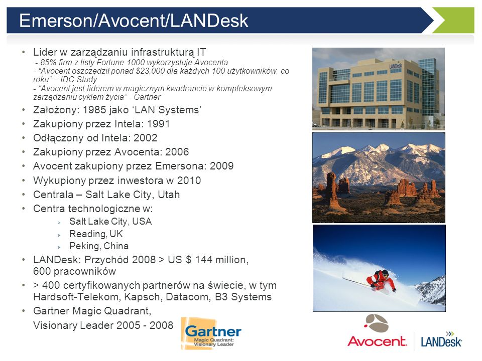 Emerson/Avocent/LANDesk