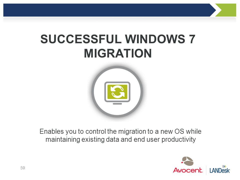 Successful windows 7 migration