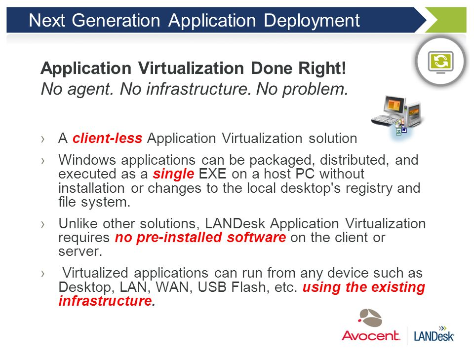 Next Generation Application Deployment