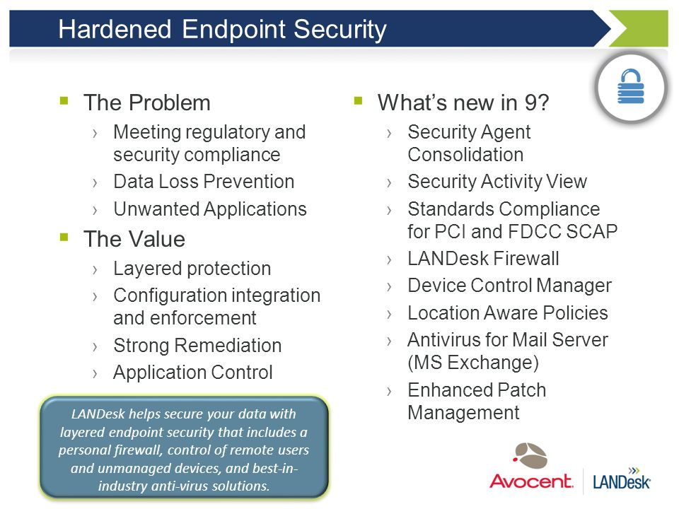 Hardened Endpoint Security