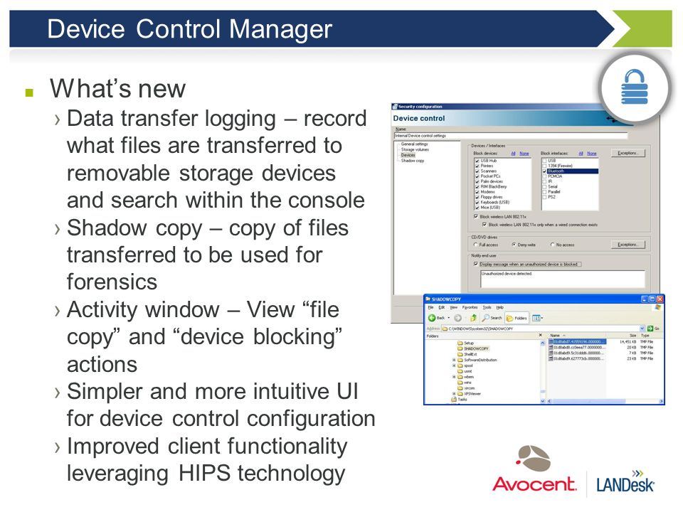 Device Control Manager