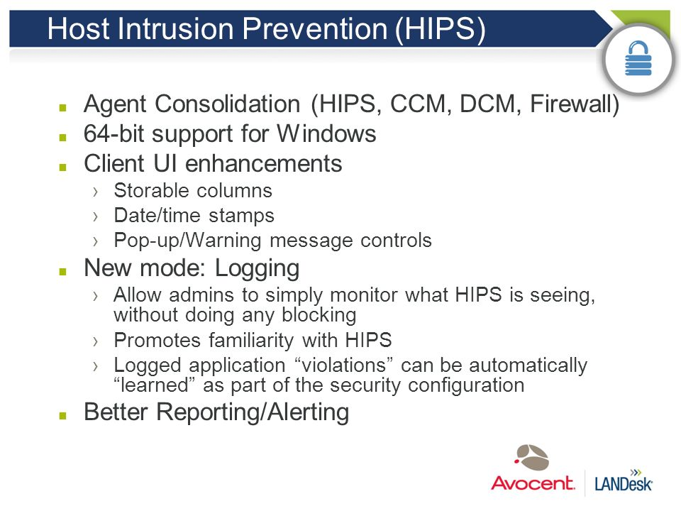 Host Intrusion Prevention (HIPS)