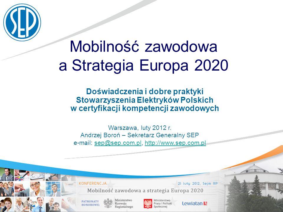 Mobilność zawodowa a Strategia Europa 2020