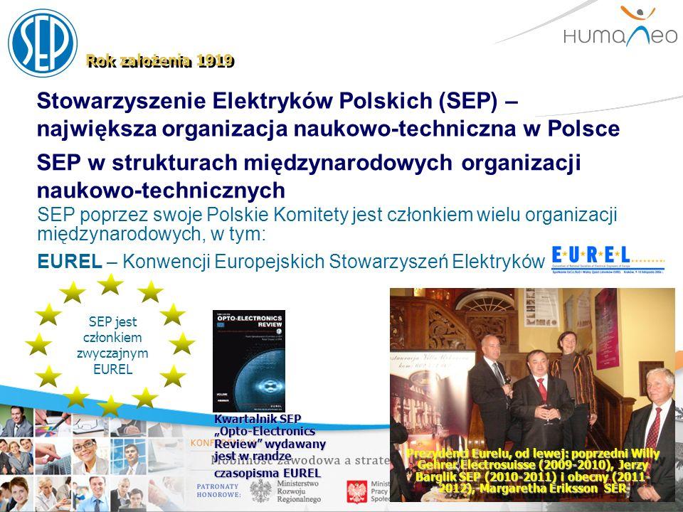 SEP jest członkiem zwyczajnym EUREL