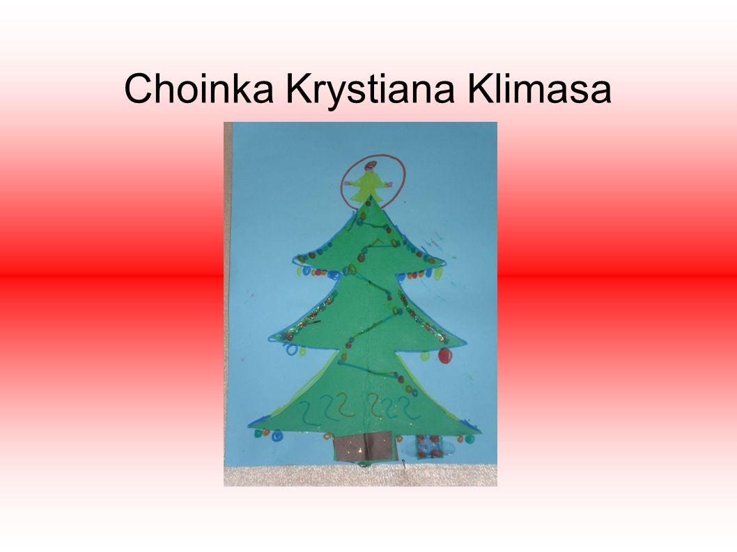 Choinka Krystiana Klimasa