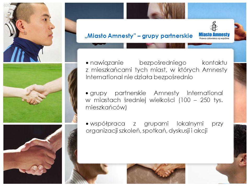 """Miasto Amnesty – grupy partnerskie"