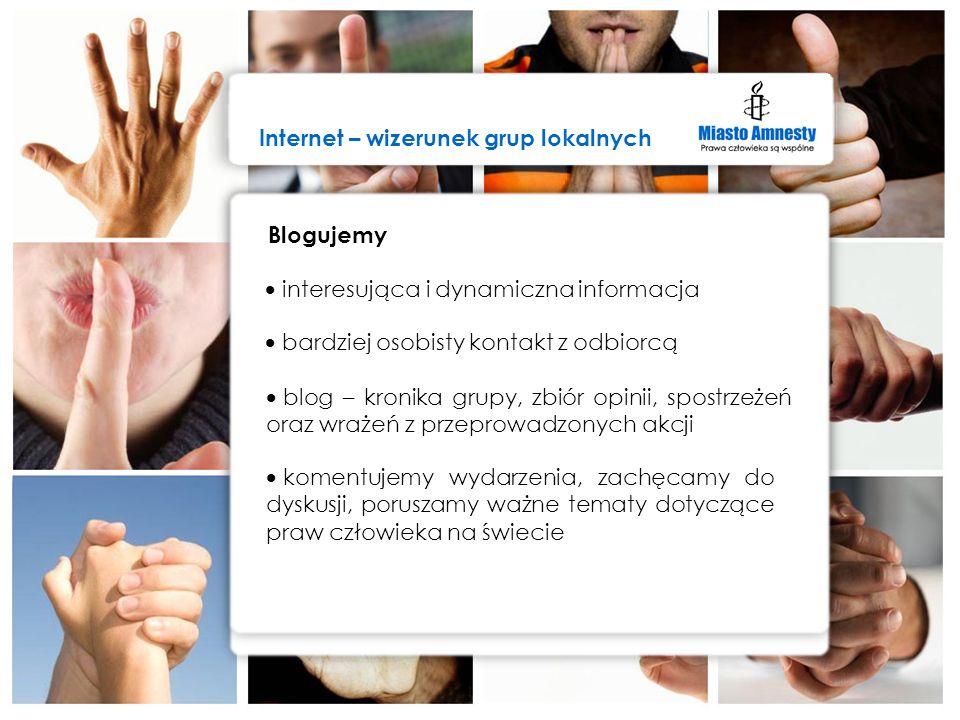 Internet – wizerunek grup lokalnych
