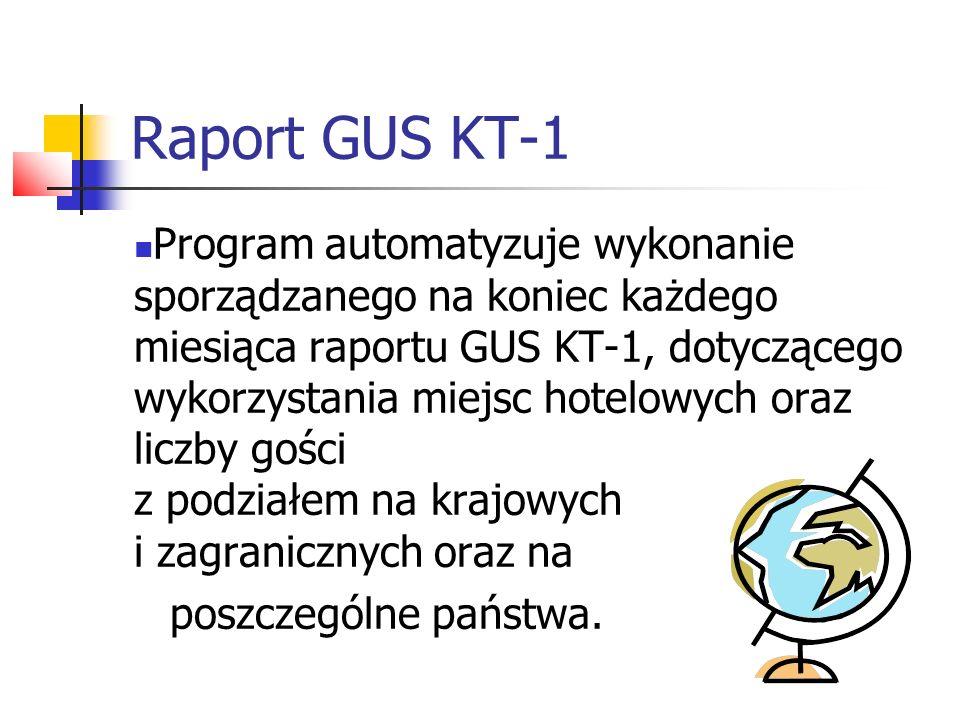Raport GUS KT-1