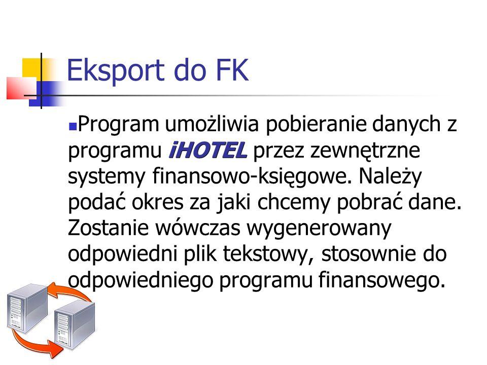 Eksport do FK