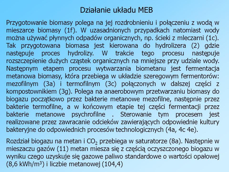 Działanie układu MEB