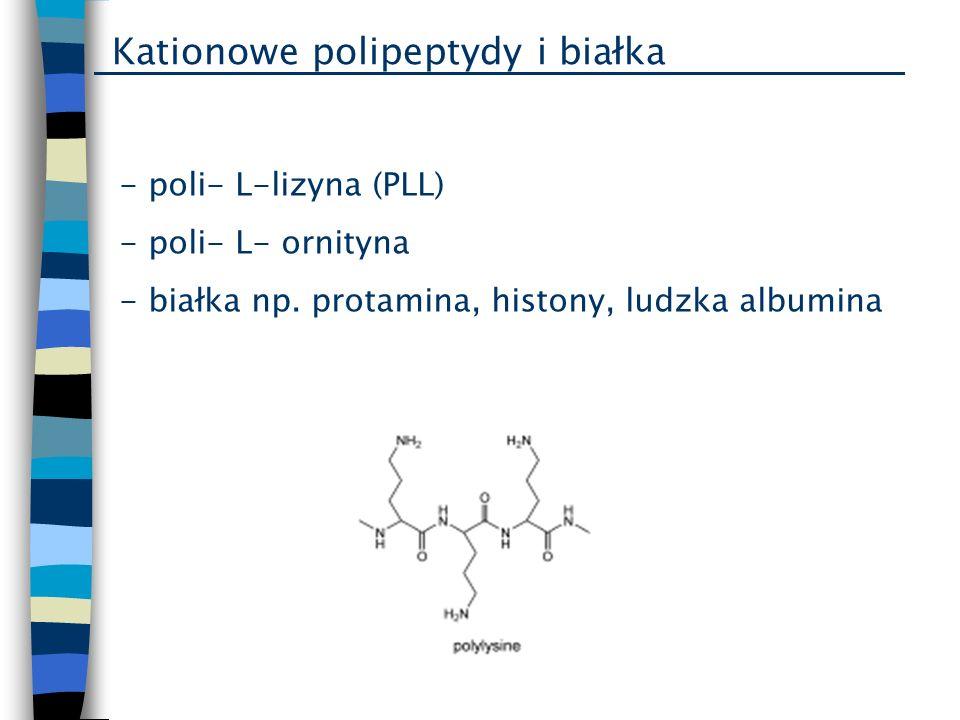 Kationowe polipeptydy i białka